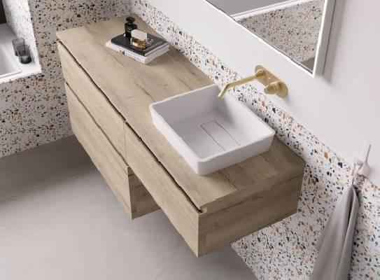 Mueble de Baño B80-D100L Halifax Serie LIAM
