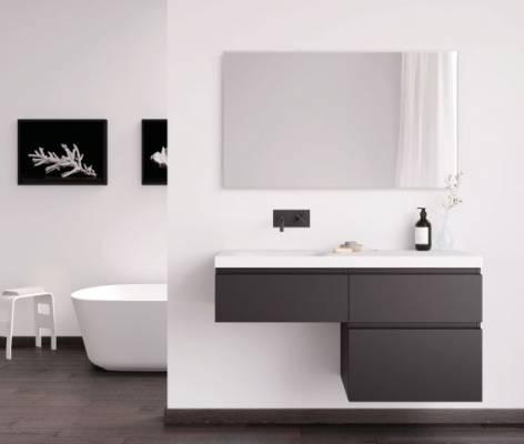 Mueble de Baño L2-A60-D60L Negro